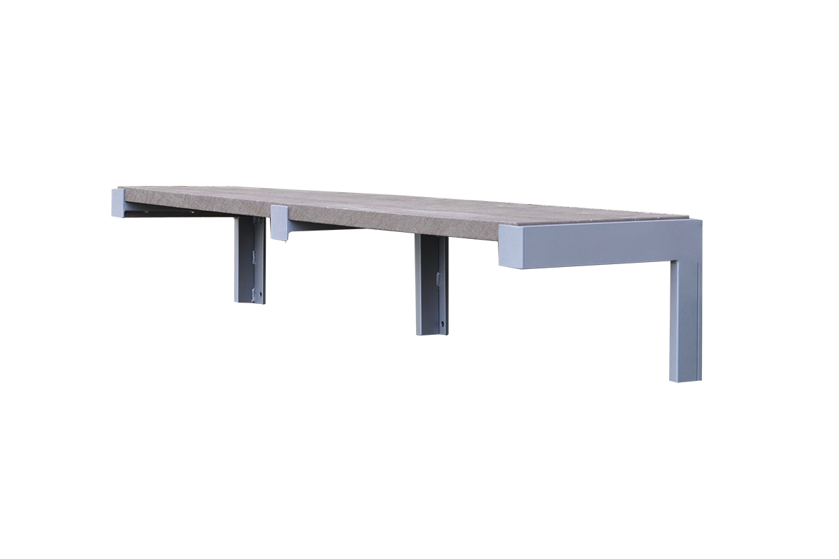 Urban Form Wall Mount Bench