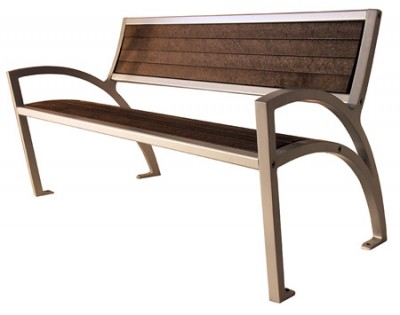 Modena Park Bench - Wide Body